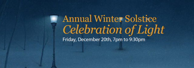 Winter Solstice Food Bank Fundraiser – Bringing Love and Light to our Community.