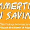 Summertime Fun Savings is back!