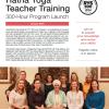 Hatha Yoga Teacher Training – 300 Hour