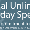 Annual Unlimited Holiday Savings begins December 1st!