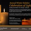 Winter Solstice Celebration of Light