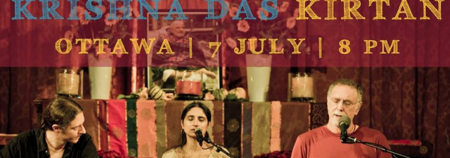 Kirtan with Krishna Das: Kirtan Wallah Tour 2015