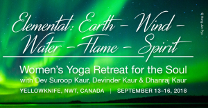 Women's Yoga Retreat – Yellowknife, NWT