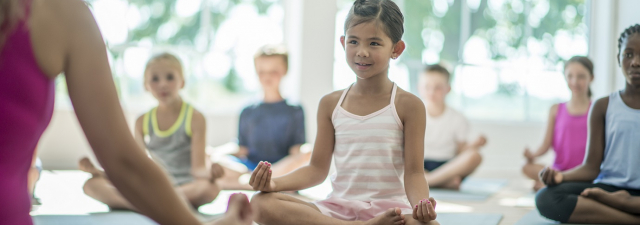 Teaching Yoga and Mindfulness to Children