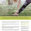 Spring into Summer – 40 Day Yoga Challenge