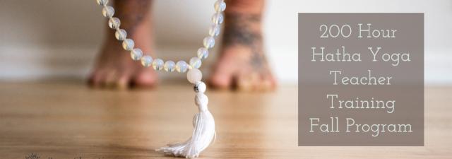 Hatha Yoga Teacher Training Fall Program