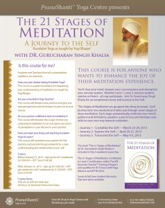 21 Stages of Meditation - Kundalini Yoga Teacher Training