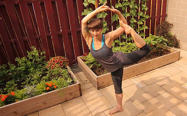 Hatha Yoga Ottawa at Pranashanti - Angela Regnier