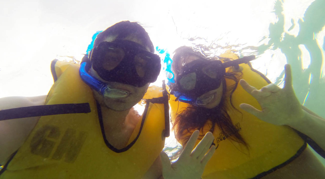 Snorkeling in the Riviera Maya
