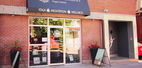 7. PranaShanti Yoga's central location! Hintonburg is accessible by walking, biking, public transit and cars
