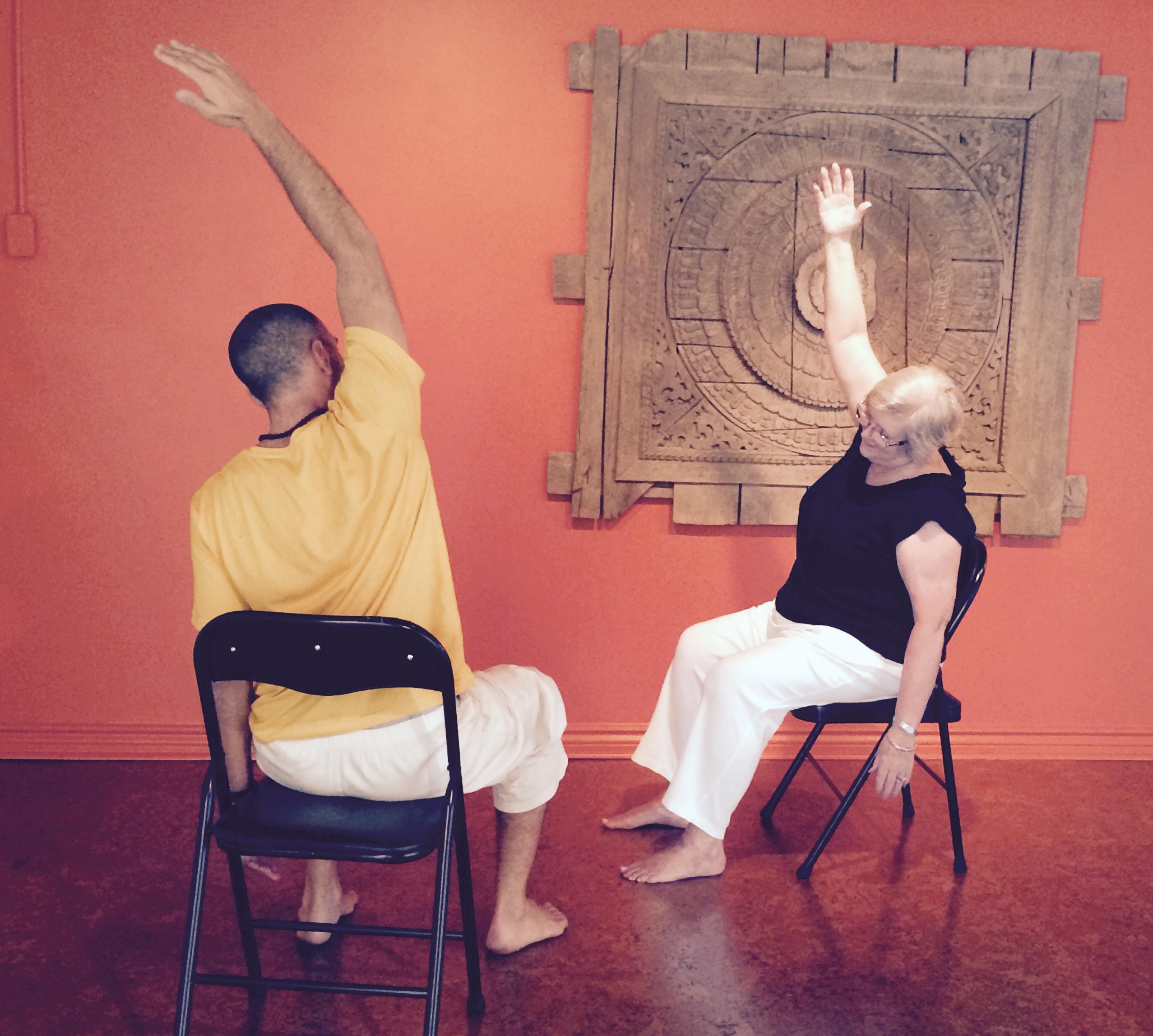 Chair Yoga Training PranaShanti Yoga Centre