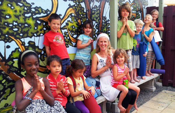 Kids Yoga Camp Ottawa at PranaShanti
