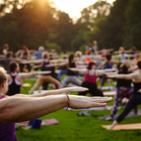 Yoga in the Park 2019