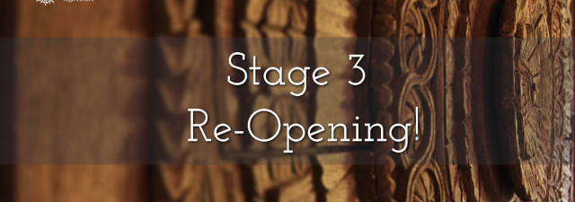 Stage 3 Re-Opening