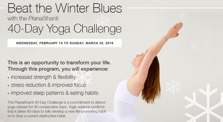40-Day Yoga Challenge 2016