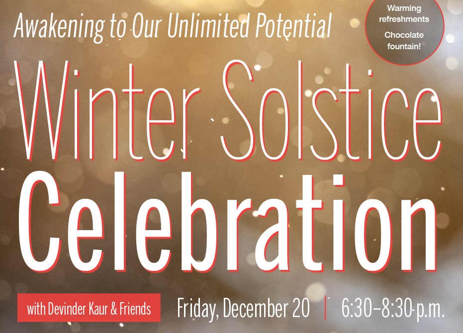 Annual Winter Solstice Celebration 2019