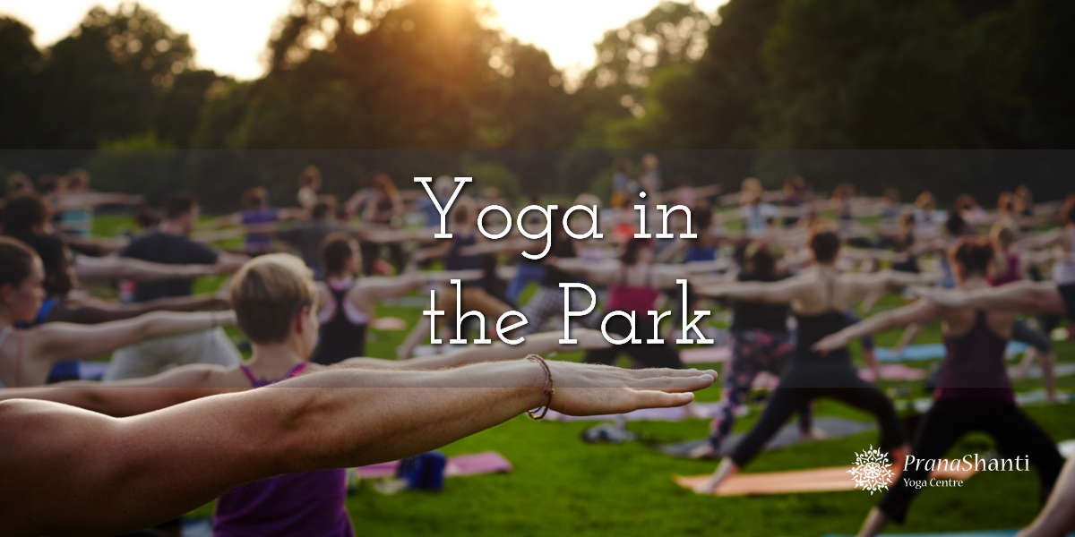Yoga in the Park – Social Distancing