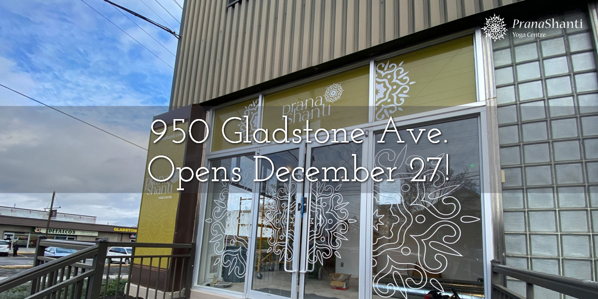 950 Gladstone Ave. Opens December 27!