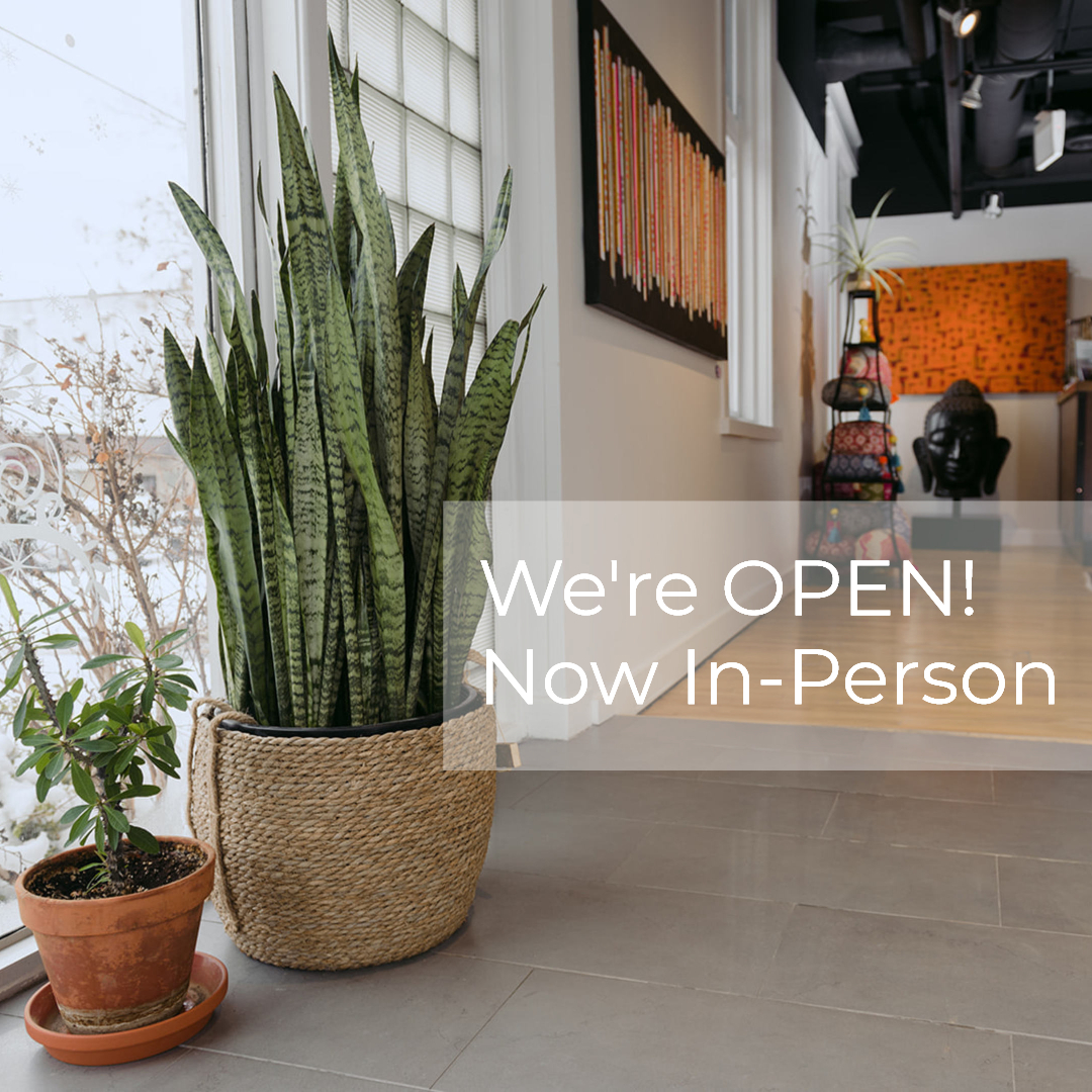 We're OPEN with 65+ IN-PERSON and VIRTUAL Classes per Week!